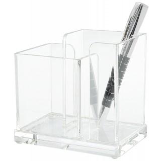 WEDO Schreibtischbutler 606016 Acryl Cristallic glasklar