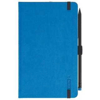 LEYKAM ALPINA Notizbuch G-Notes 111 13 x 21 cm 160 Blatt liniert Hardcover blau