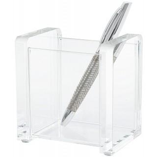 WEDO Stifteköcher 604016 Acryl Cristallic glasklar