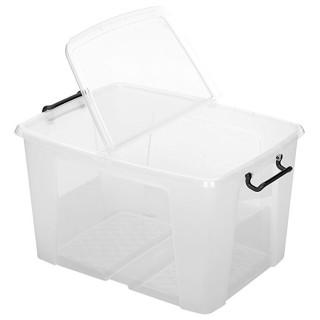 CEP Aufbewahrungsbox HW686 65 Liter mit Deckel transparent