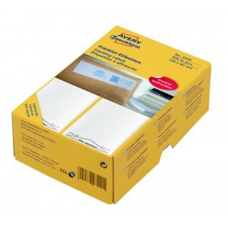 AVERY ZWECKFORM Frankieretiketten 3439 500 Stück permanent 130 x 40 mm weiß