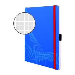 AVERY ZWECKFORM Notizbuch notizio 7041 mit Softcover DIN A5 80 Blatt 90g/m² kariert blau
