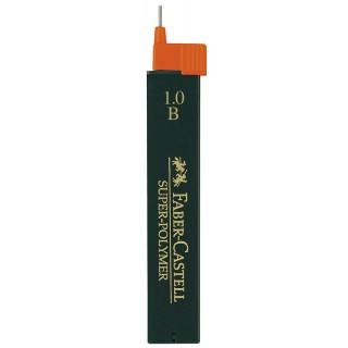 FABER-CASTELL Feinminen 1209 SUPER-POLYMER 12 Stück 1 mm B