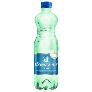 RÖMERQUELLE Mineralwasser mild 8 Flaschen à 0,5 Liter