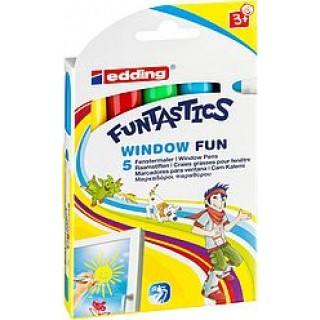 EDDING Windowmarker 16  Funtastics 5er