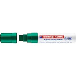 EDDING Kreidemarker 4090 mit Keilspitze 4-15 mm grün