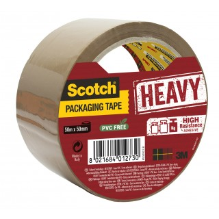 SCOTCH Heavy Klebeband 50 mm x 50 m braun