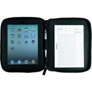 ALESSIO Tablet-PC Hülle Lederimitat schwarz