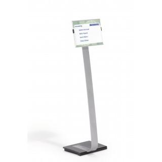 DURABLE Bodenständer Info Sign DIN A4 silber