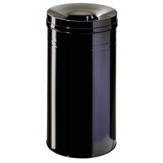 DURABLE Safe+ Papierkorb 60 Liter schwarz