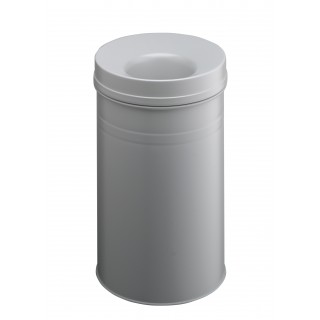 DURABLE Safe+ Papierkorb 60 Liter grau