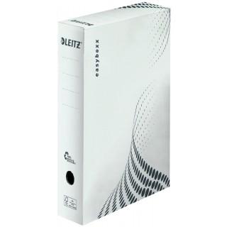 LEITZ easyboxx Archivbox DIN A4 80 mm weiss