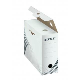 LEITZ easyboxx Archivbox DIN A4 100 mm weiss