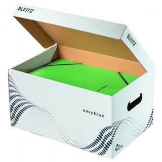 LEITZ easyboxx Archiv-Container mit Klappdeckel S weiss