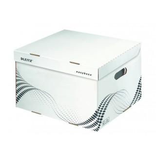 LEITZ easyboxx Archiv-Container mit Klappdeckel L weiss