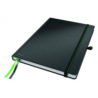 LEITZ Notizbuch Complete Tablet-Format 80 Blatt kariert schwarz