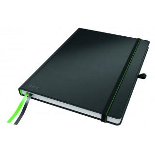 LEITZ Notizbuch Complete Tablet-Format 80 Blatt liniert schwarz