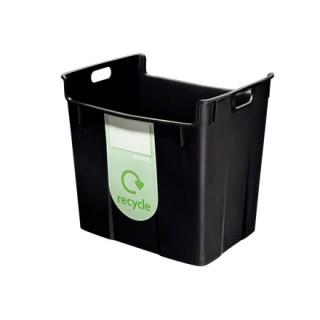 LEITZ Wertstoffsammelbehälter 40 Liter schwarz