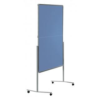 LEGAMASTER Moderationstafel 120 x 150 cm blaugrau