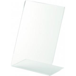 HELIT Tischaufsteller DIN A4 glasklar