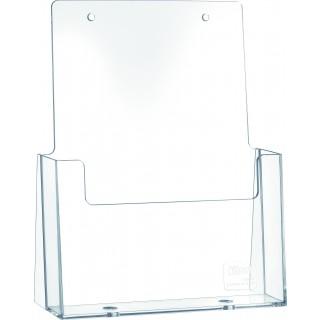 HELIT Tischprospekthalter 1 Tasche DIN A5 transparent