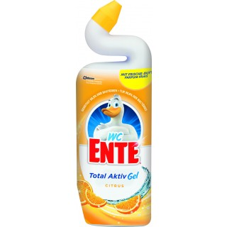 WC-ENTE WC-Reiniger Total Aktiv Gel Citrus 750ml