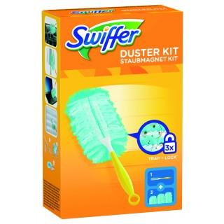 SWIFFER Staubmagnet Starter-Kit (1 Griff + 3 Tücher)
