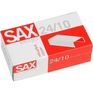 SAX Heftklammern 24/10 Kupfer 1000 Stück
