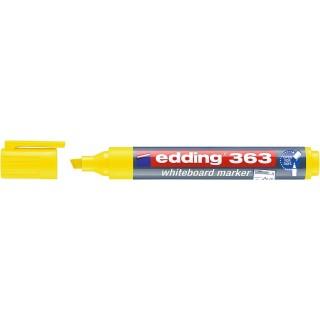 EDDING Whiteboardmarker 363 mit Keilspitze 1-5 mm gelb