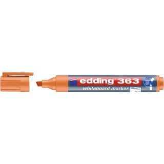 EDDING Whiteboardmarker 363 mit Keilspitze 1-5 mm orange