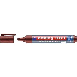 EDDING Whiteboardmarker 363 mit Keilspitze 1-5 mm braun
