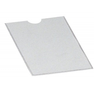 DONAU Steckhülle 1190075 80 x 121 mm transparent