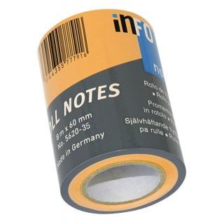 INFO NOTES Haftnotiz Rolle 5620 Nachfüllung orange