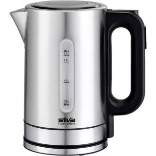 SILVA Wasserkocher KL-T2200 Edelstahl 1,7 Liter