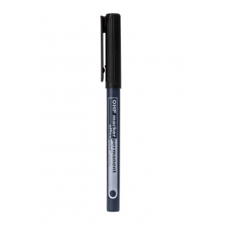 OFFICE POINT Universalmarker mit Rundspitze F permanent schwarz