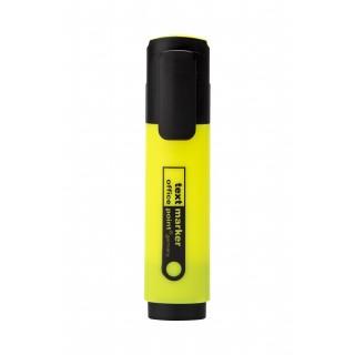 OFFICE POINT Textmarker mit Keilspitze 2-5 mm gelb