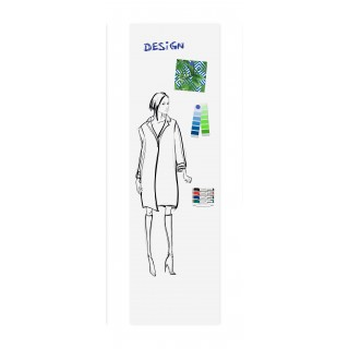 LEGAMASTER Wall-Up Whiteboard 200x59,5 cm weiss