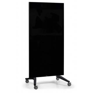LEGAMASTER Glasboard Mobil 90x195 cm schwarz