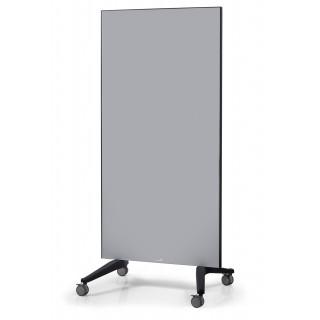 LEGAMASTER Glasboard Mobil 90x195 cm grau