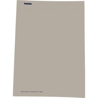 PAGRO Aktenumschlag DIN A4 Karton grau