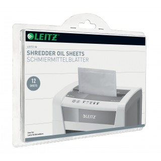 LEITZ Ölblätter IQ 8007 für IQ Aktenvernichter 12 Stück