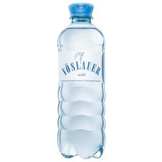 VÖSLAUER Mineralwasser Mild 0,5 l PET-Einwegflasche