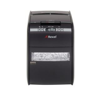 REXEL Aktenvernichter Auto+ 90X P-3 Partikelschnitt schwarz