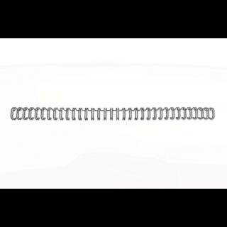 GBC Drahtbinderücken WireBind DIN A4 100 Stück 3:1-Teilung schwarz