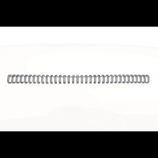 GBC Drahtbinderücken WireBind 100 Stück DIN A4 3:1-Teilung 12,5mm schwarz