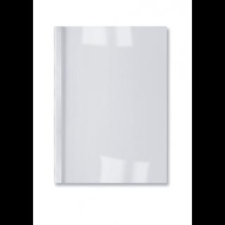 GBC LeatherGrain Thermobindemappe 100 Stück DIN A4 1,5mm weiß