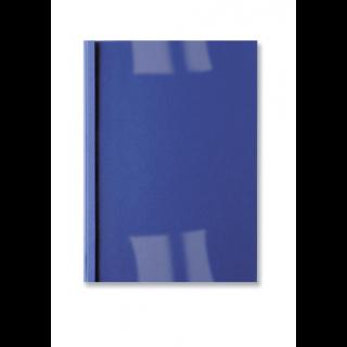 GBC Thermobindemappe LeatherGrain 100 Stück DIN A4 4mm dunkelblau