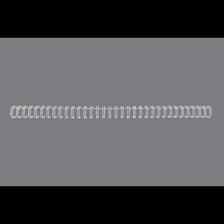 GBC Drahtbinderücken WireBind 100 Stück DIN A4 3:1-Teilung 9,5mm weiß