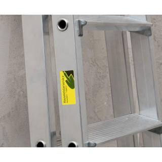 AVERY ZWECKFORM Wetterfeste Etiketten L6130-20 40 Stück 210x148 mm gelb