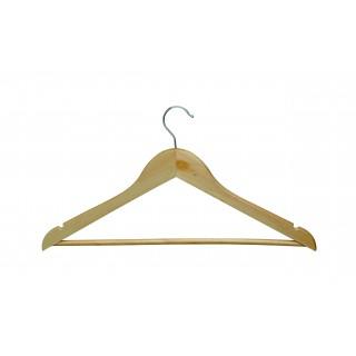 MAUL Kleiderbügel 8 Stück aus Buchenholz 45 x 22 cm